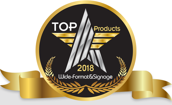 Wide-Format & Signage 2018 Top Products - Click here to vote