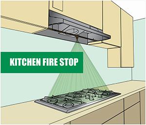 Kitchen Fire Stop logo